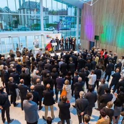 Inauguration du nouveau campus Brossolette
